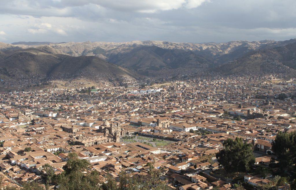 整座古城列為世界遺產的庫斯科,位於海拔3,400公尺的安地斯山上。