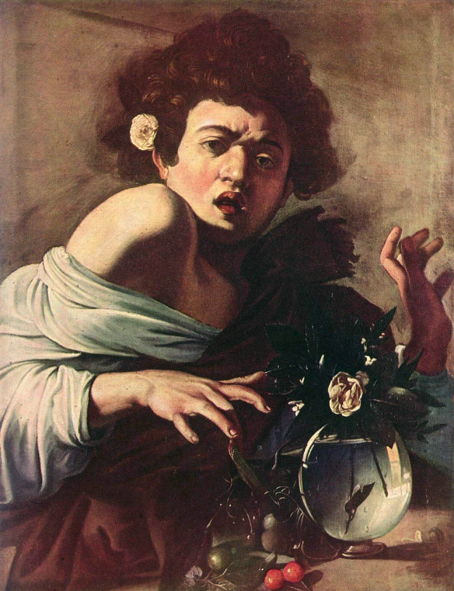 michelangelo_caravaggio_7_boy_bitten_by_a_lizard_1594_1596